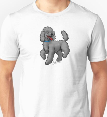 Poodle Black T-Shirt