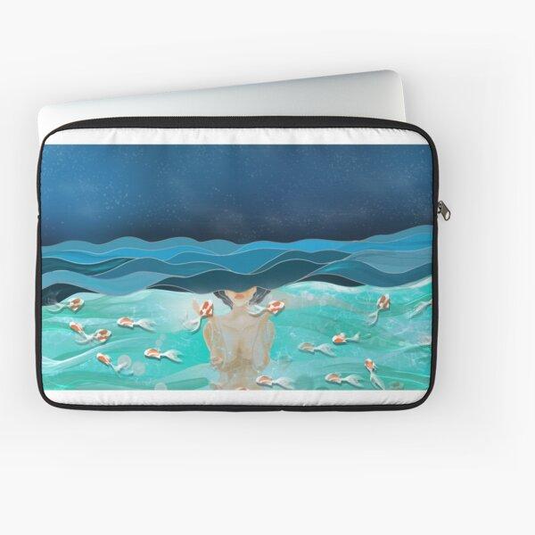 ocean goddess  Laptop Sleeve