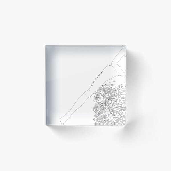 [my path leads me back to you] Acrylic Block