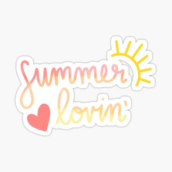 Summer Lovin' Sticker