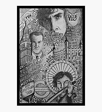 New Sherlock Dada Doll Photographic Print