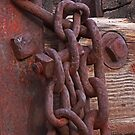 Rusty Old Chain by Robert Armendariz