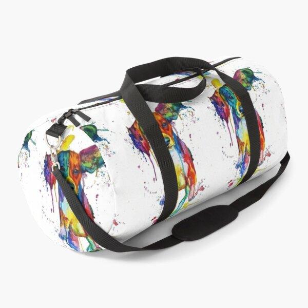 Beagle paint splash Duffle Bag