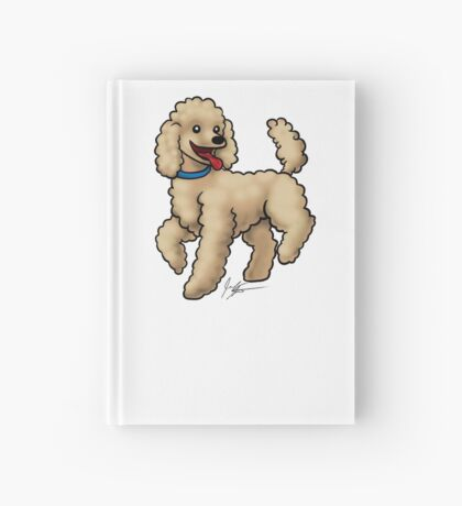 Poodle Brown Hardcover Journal