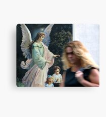 21/1 urban angel Canvas Print