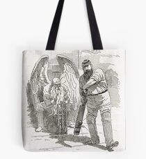 50 years of W G Grace punch cartoon 1898 Tote Bag