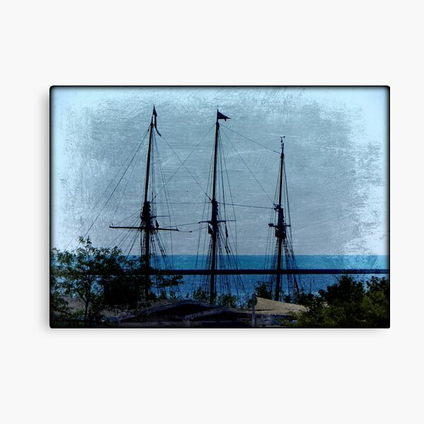 Shipping out © Canvas Print