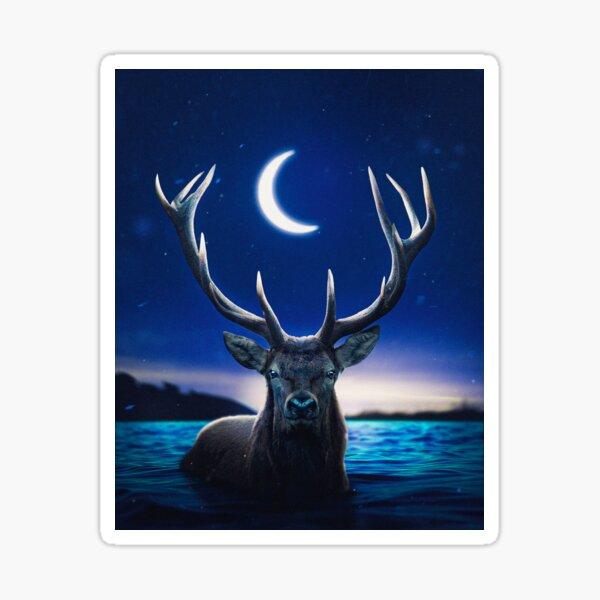 I am a Lovely Deer Sticker