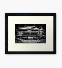 Parked for good... #4 Framed Print