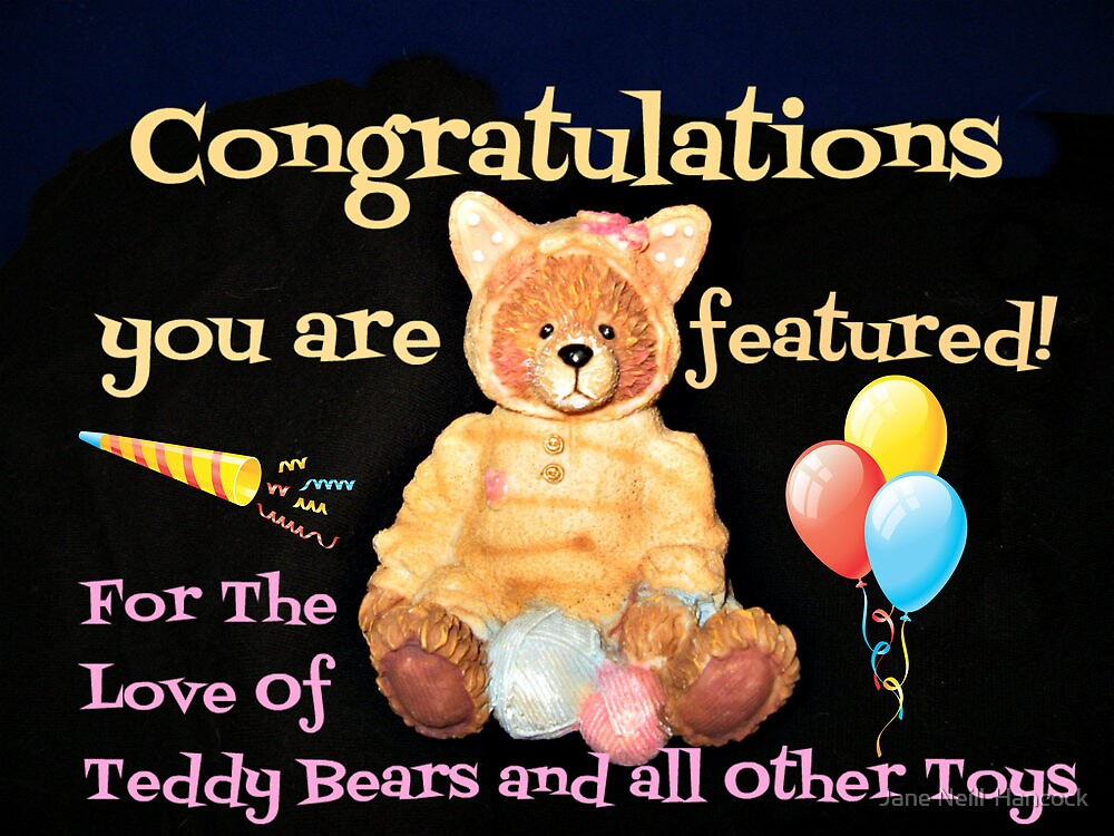 For The Love Of Teddys Feature Banner by Jane Neill-Hancock