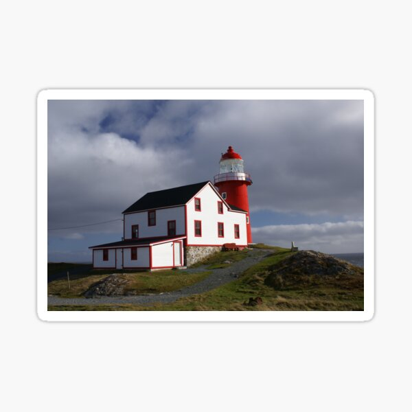 Ferryland Head Lighthouse Sticker