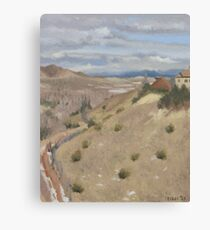 Westpoint Hill (Plein-air Study) Canvas Print