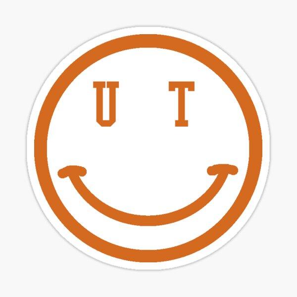University of Texas Austin Smiley Face Sticker