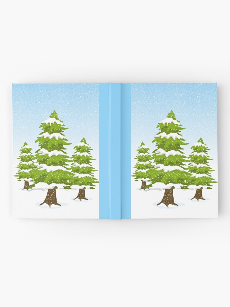 Alternate view of Snowy Winter Trees Hardcover Journal