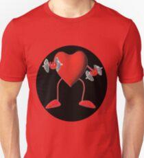 HEART PUMPIN  WEIGHTS TEE SHIRT T-Shirt
