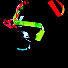 Ribbon Dance Abstract  by Heather Friedman