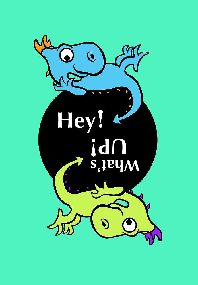 2 Dragon kids by jatujeep