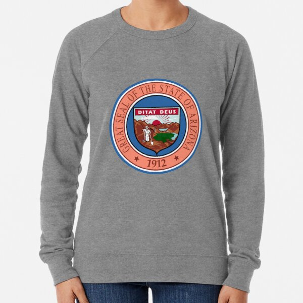 Arizona AZ Official State Seal Lightweight Sweatshirt