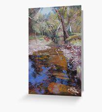 'Dabyminga Creek - Tallarook' Greeting Card