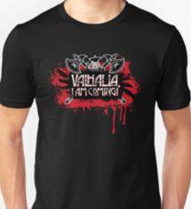 "Camiseta unisex Letra de Led Zeppelin ""Immigrant Song"", ""Valhalla, I Am Coming!"""