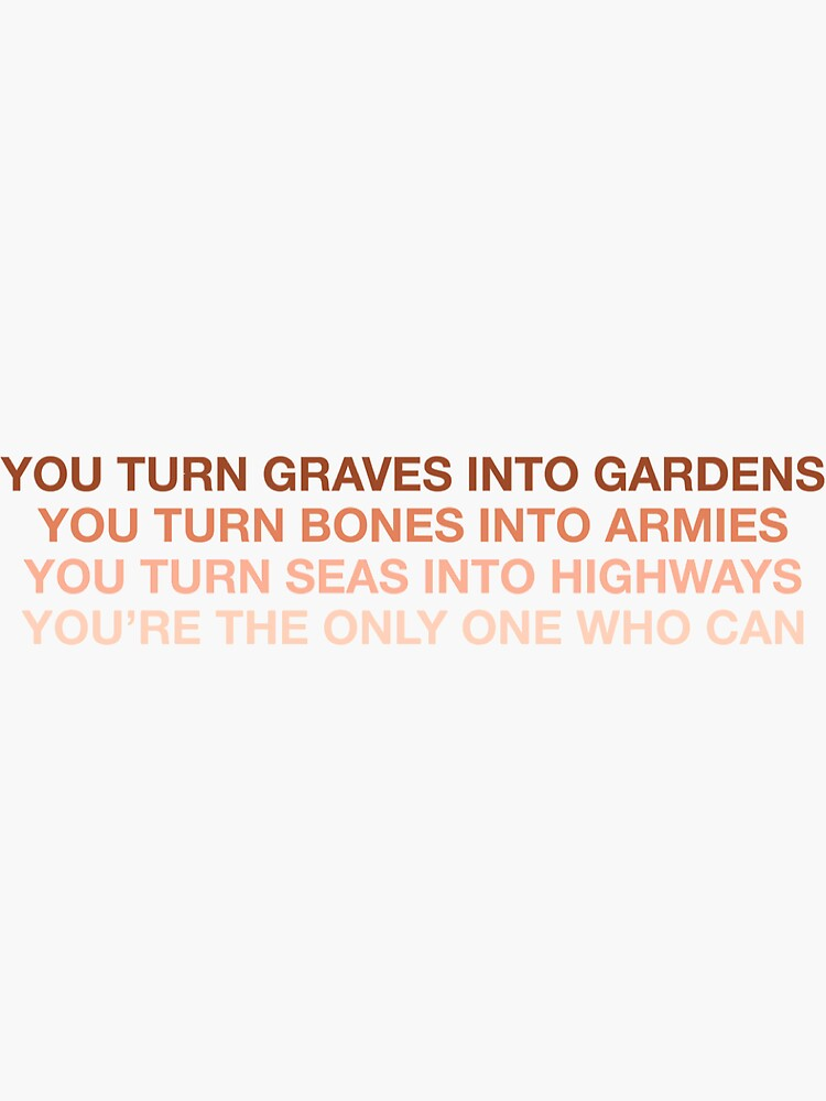Graves Into Gardens by baileyratcliff