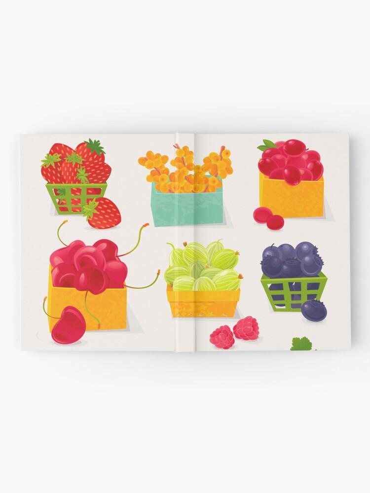 Alternate view of Sweet Berries Hardcover Journal