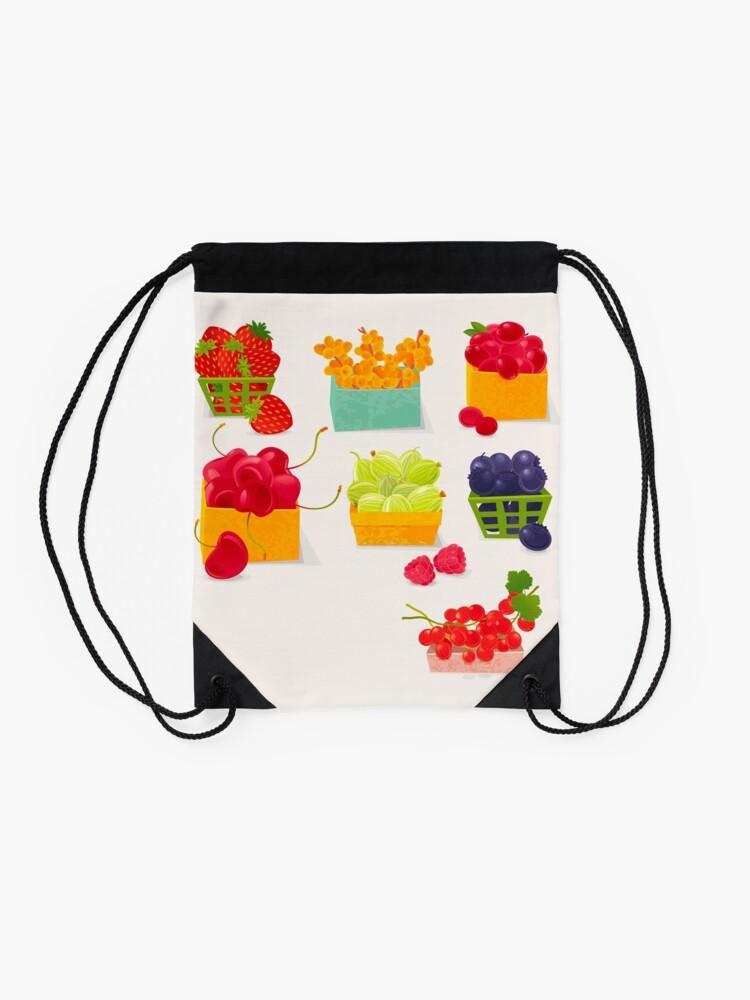 Alternate view of Sweet Berries Drawstring Bag