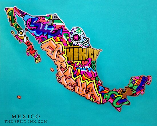 MEXICO by thespiltink