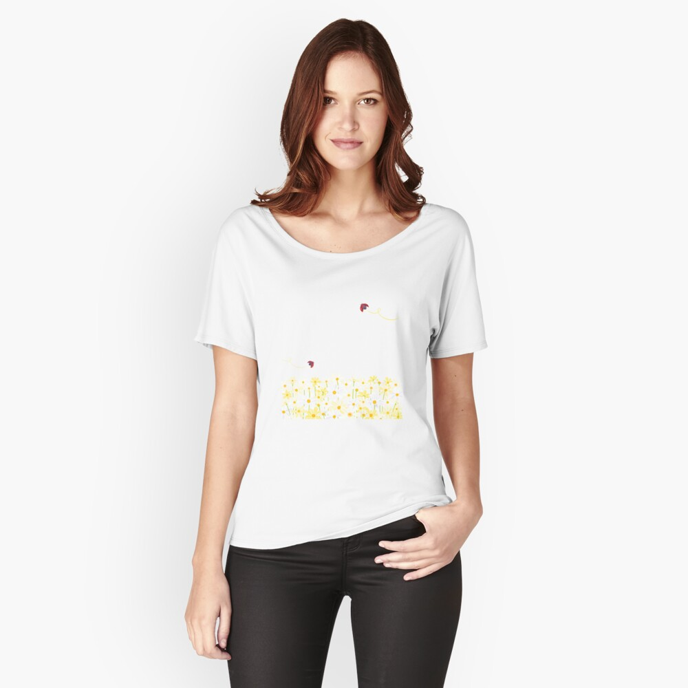 Daisies Relaxed Fit T-Shirt