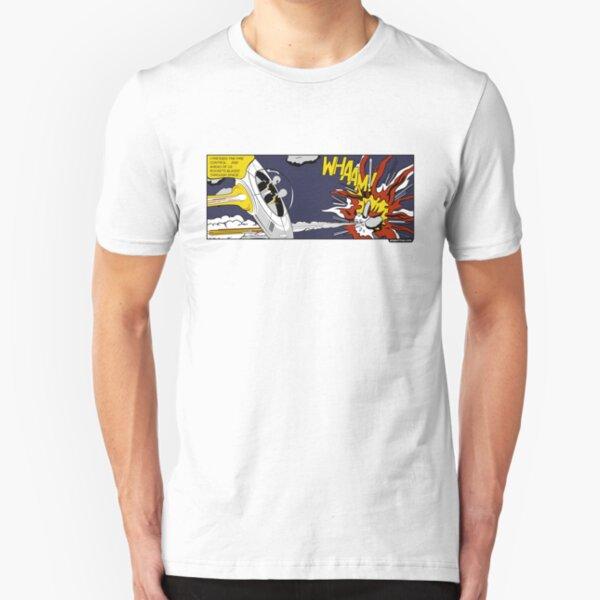"""Whaam!"" Parody Slim Fit T-Shirt"