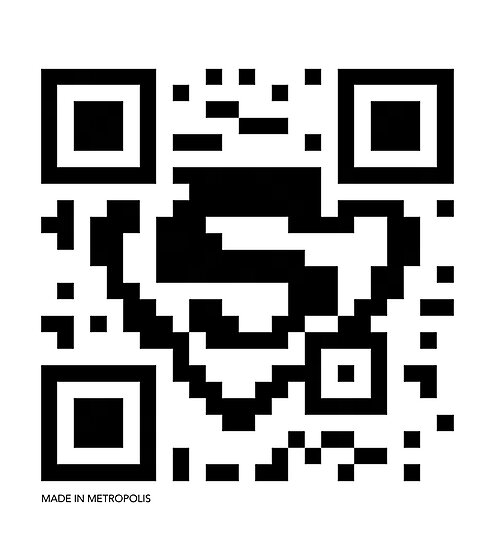 QR Code - Superman by wiscan