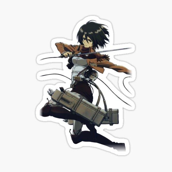 Mikasa Ackerman from AOT Sticker