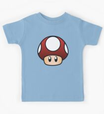 Super Mario Pilz Kinder T-Shirt