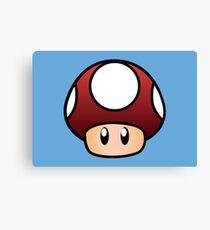 Super Mario Pilz Leinwanddruck