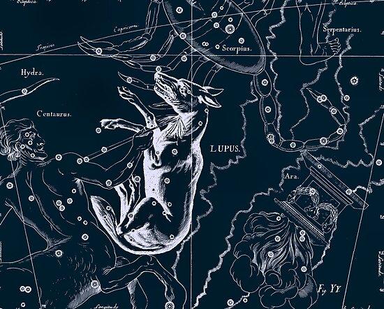 Lupus Constellation by irinatsy
