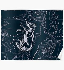 Lupus Constellation Poster