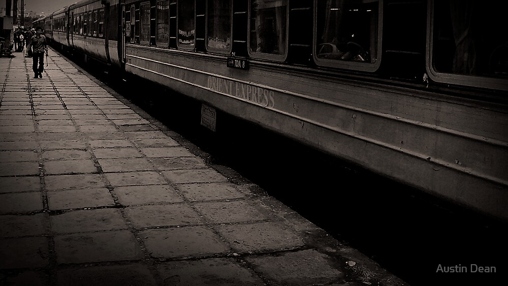 The Orient Express - at Lao Cai by Austin Dean