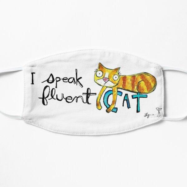I speak fluent CAT Mask