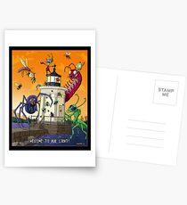 Invader Zim at Bug Light Postcards
