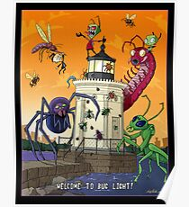 Invader Zim at Bug Light Poster
