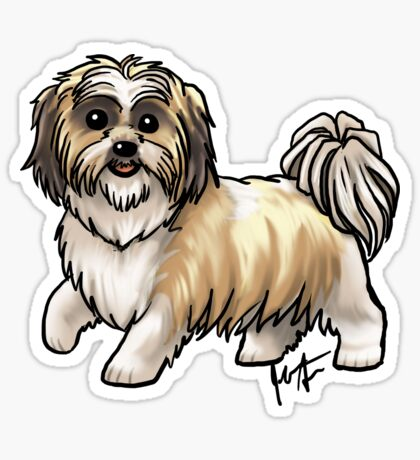 Shih Tsu Sticker