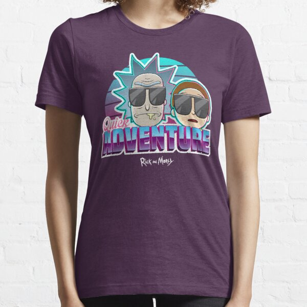 Rick and Morty - Quick Adventure Graphic Essential T-Shirt