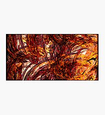 Fiery Flames Photographic Print