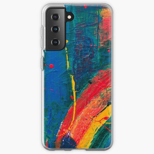 Malen Sie # 3 Samsung Galaxy Flexible Hülle
