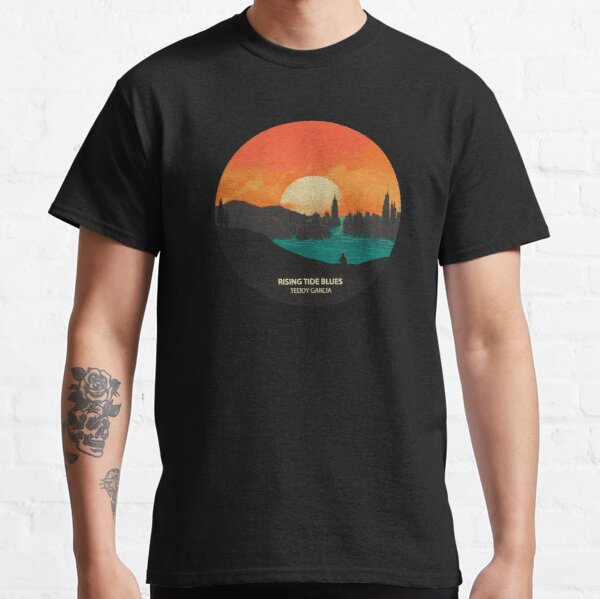 Rising Tide Blues - Circle Classic T-Shirt