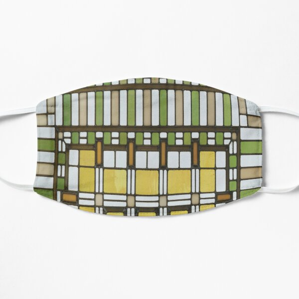 Martin House Window by Frank Lloyd Wright Mask