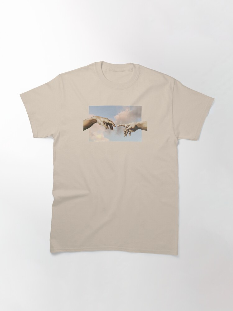 Alternate view of the creation of adam Classic T-Shirt