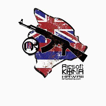 AK Island Logo by nopps