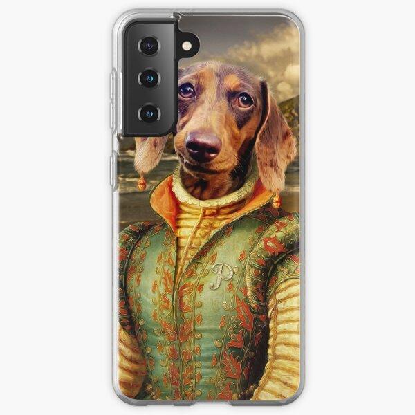 Dachshund Dog Portrait - Penny Samsung Galaxy Soft Case