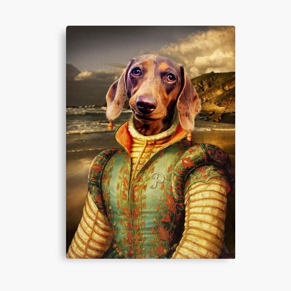 Dachshund Dog Portrait - Penny Canvas Print